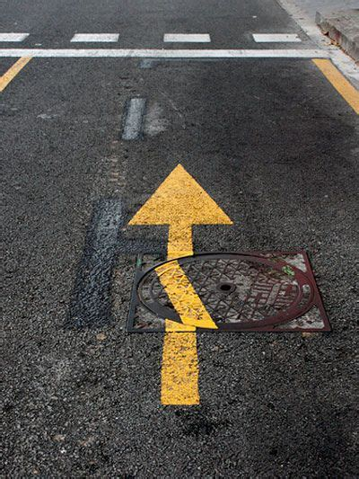 misplaced manhole covers  drive  crazy  pictures