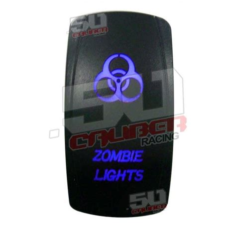 Caliber Illuminated Rocker Switch Zombie Lights