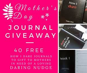 Dare Out Loud | Free Journal Giveaway for Mother's Day