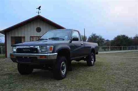Sell Used Garage Kept 1990 Toyota Pickup 4x4 29,xxx
