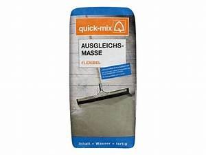 Ausgleichsmasse Quick Mix : quick mix ausgleichsmasse flexibel 25 kg schichtdicke 2 ~ Michelbontemps.com Haus und Dekorationen