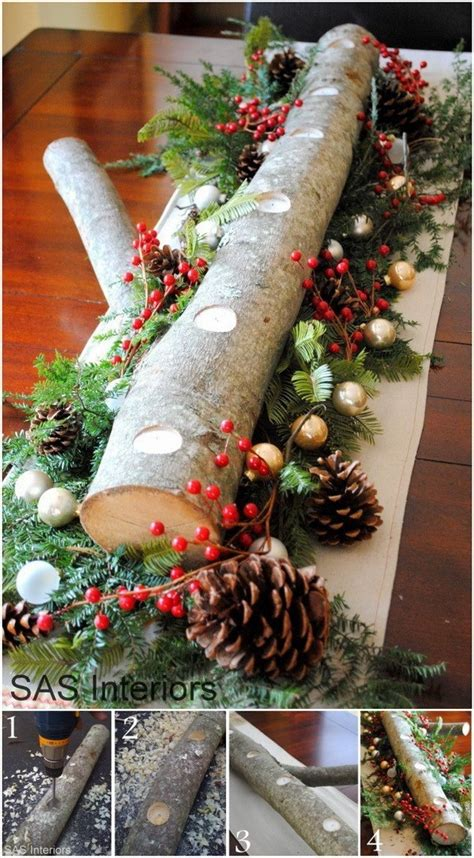 cool diy rustic christmas decoration ideas tutorials  creative juice