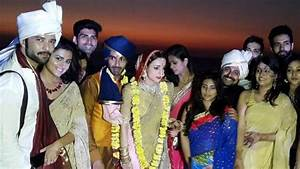 Check out Sanaya Irani-Mohit Sehgal wedding pictures!