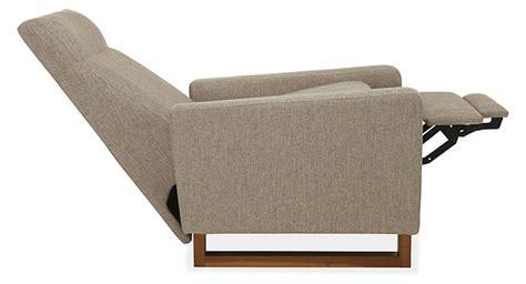 Dalton Recliner with Walnut Legs - Recliners & Lounge
