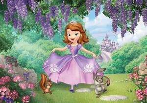 Disney Sofia princess wall murals Homewallmurals co uk