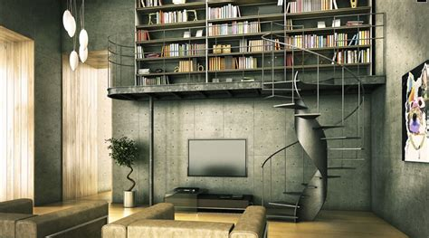 modern home library interior design buffalo lofts archives page 2 of 2