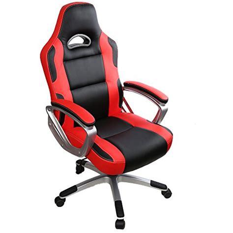 siege ergonomique pour ordinateur iwmh racing chaise de bureau gaming siège baquet sport
