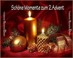 Grüße Zum 2 Advent Lustig : sch ne momente zum 2 advent bild herunterladen ~ Haus.voiturepedia.club Haus und Dekorationen