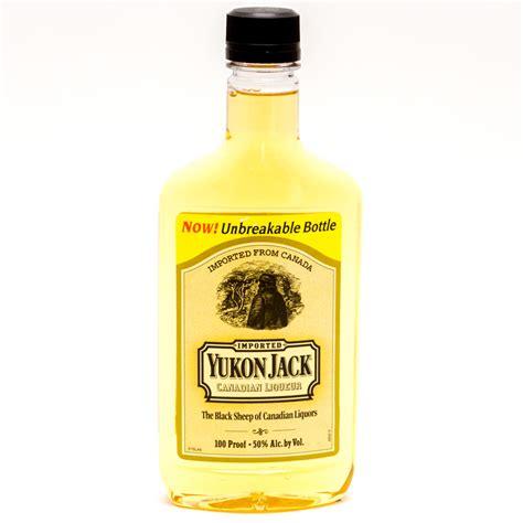 yukon jack liqueur 375ml canadian liquor alcohol beer pikfly