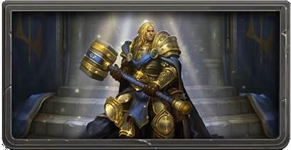 Arthas Prince Hearthstone Throne Knights Paladin Frozen