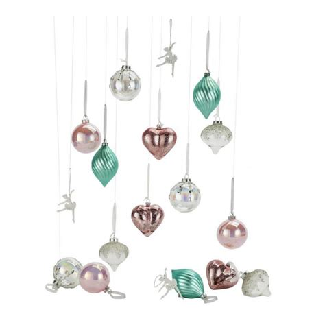 heart  house  piece christmas decorations pack
