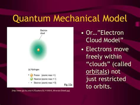 PPT - Quantum Mechanical Model PowerPoint Presentation