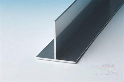 aluminium t profil 50mm x 50mm x 2mm pressblank rexin shop