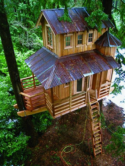 unique  creative tree houses