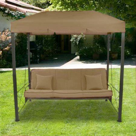 outdoor patio swing with canopy garden winds replacement canopy top for target s outdoor
