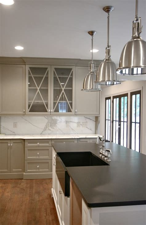 Grey Color Kitchen Cabinets by Most Popular Cabinet Paint Colors