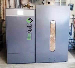 Chaudiere Bois Et Granulés : installation d 39 une chaudi re granul s de bois pellets ~ Premium-room.com Idées de Décoration