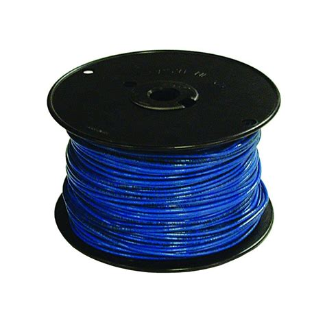 southwire 500 ft 16 blue stranded tffn fixture wire 27035501 the home depot