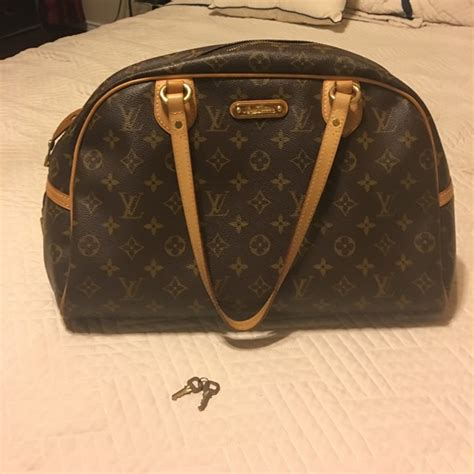 louis vuitton bags authentic monogram bowling bag poshmark