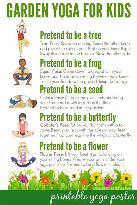 kids yoga poses ideas  pinterest yoga poses