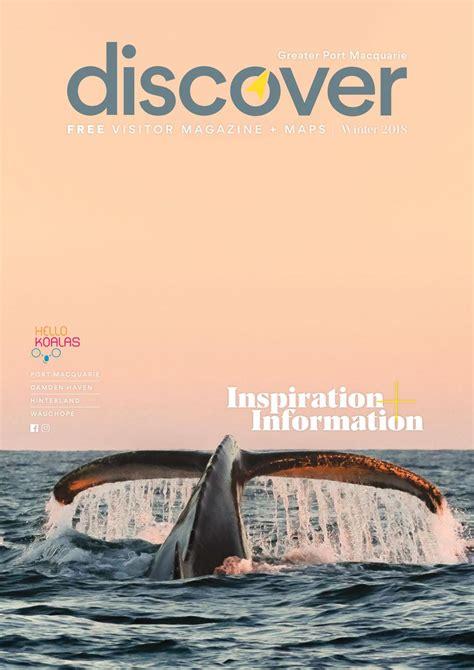 discover media kartenupdate 2018 discover magazine greater port macquarie april 2018 to