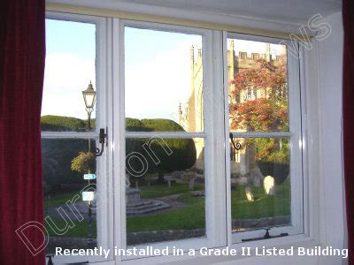 horizontal sliding secondary glazing  track