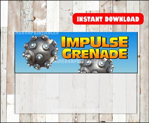 fortnite birthday fortnite favors impulse grenades