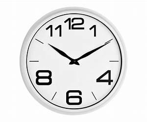 Horloge Murale Blanche : westwing 10 bons plans pour cuisine en blanc bois ~ Teatrodelosmanantiales.com Idées de Décoration