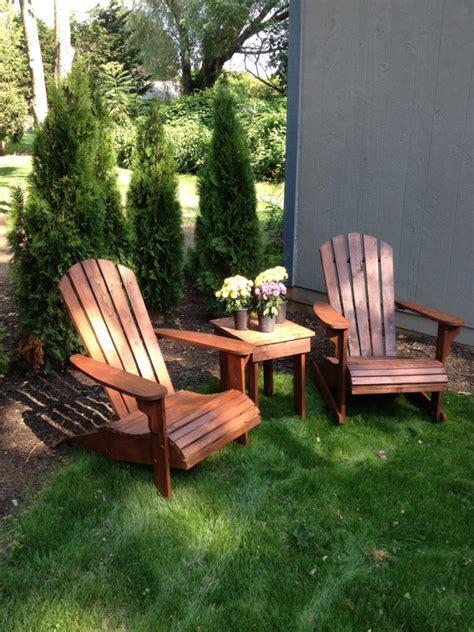 all cedar adirondack chair the most comfortable chair