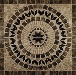 Tile Floor Medallion Designs