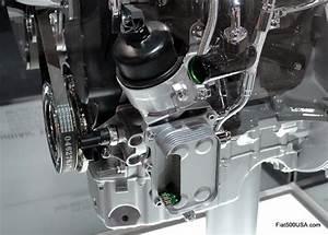 Fiat 500 Abarth Oil Change