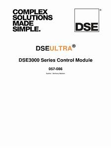 Dse3110 Engine Control Pdf