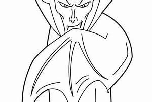 Dessin Halloween Vampire : coloriage de sorcieres d 39 halloween coloriage d 39 une petite sorciere ~ Carolinahurricanesstore.com Idées de Décoration
