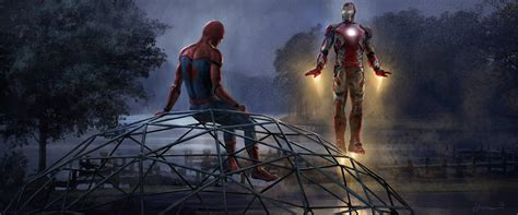 Iron Man And Spiderman 5k Artwork, Hd Movies, 4k