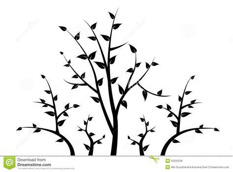 silhouette de branche d arbre pour votre d 233 coration illustration de vecteur image 53225228
