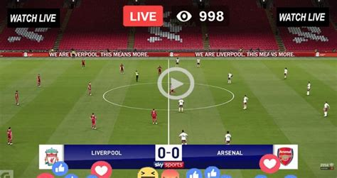Live Football Match Today Liverpool vs Arsenal Live EFL ...