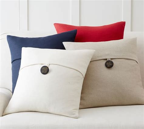 pottery barn throw pillows textured linen pillow cover pottery barn