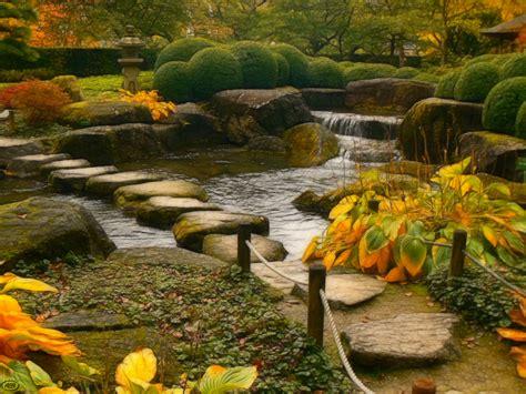 Herbst Im Japanischen Garten (3) Foto & Bild