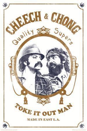 cheech chong toke   prints allposterscom
