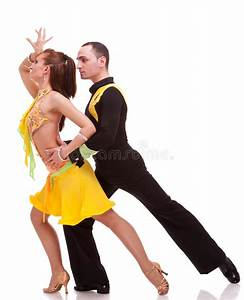 Couple During A Salsa Dance Stock Image - Image of ...