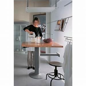 Bartisch Mit Stühlen Für Küche : topmotion s ulenfu f r steh sitz tisch bartisch verstellbarer steh sitz tisch beistelltisch k che ~ Bigdaddyawards.com Haus und Dekorationen