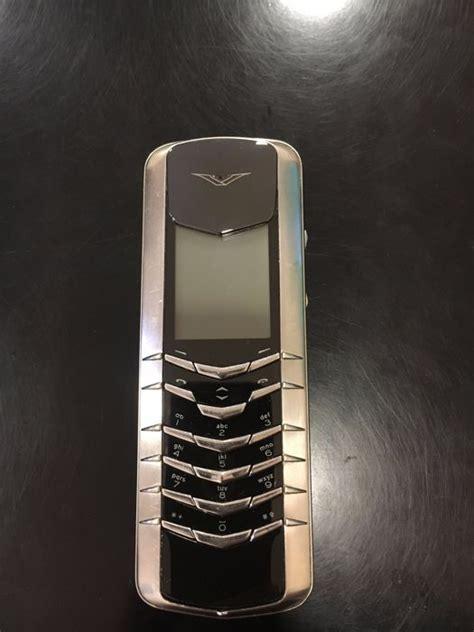 Vertu Phone Ebay by Vertu Signature M Design Black Cermamic Catawiki