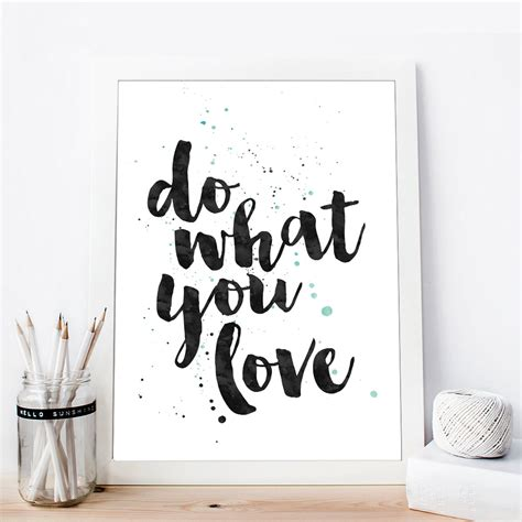 home decor wall posters inspirational quote canvas posters black white canvas