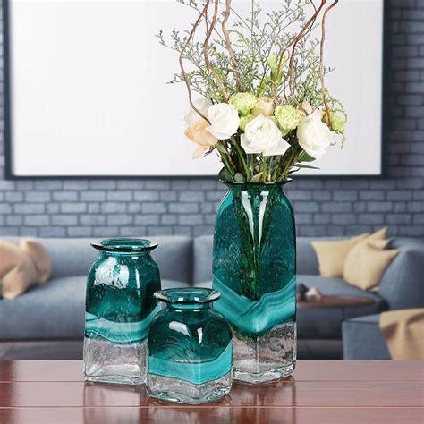 luxury glass vase modern minimalist living room table home