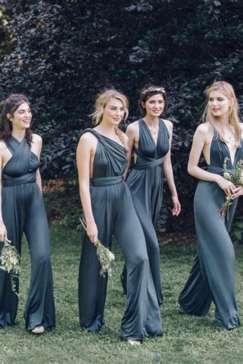bridesmaid jumpsuit best 25 bridesmaid jumpsuits ideas on
