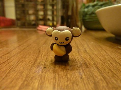 clay monkey images  pinterest cold porcelain