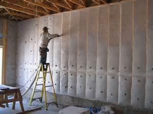 Installing Drywall On Ceiling In Basement by Cellulose Insulation Hvac Design Pros