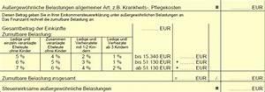 Lohnsteuer 2017 Berechnen : au ergew hnliche belastungen wie sie die zumutbare belastung jetzt berechnen ~ Themetempest.com Abrechnung
