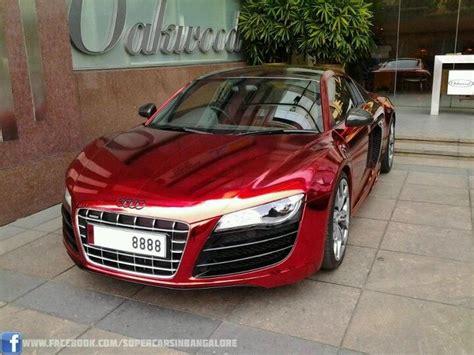 Red Chrome Audi R8