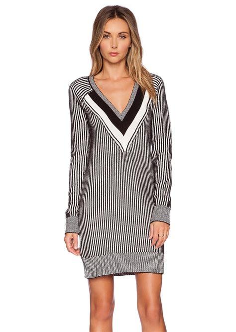 V Neck Sweater Dress - English Sweater Vest